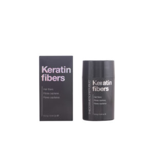 KERATIN FIBERS hair fibers #black 12,5 gr