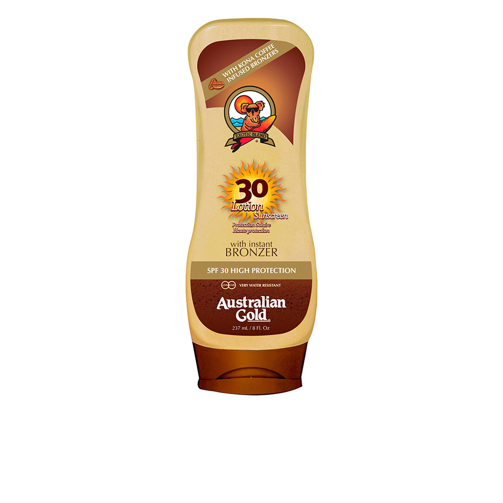 SUNSCREEN SPF30 lotion with bronzer 237 ml