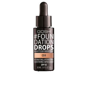 #FOUNDATION DROPS hydrating SPF10 #004-natural 30 ml